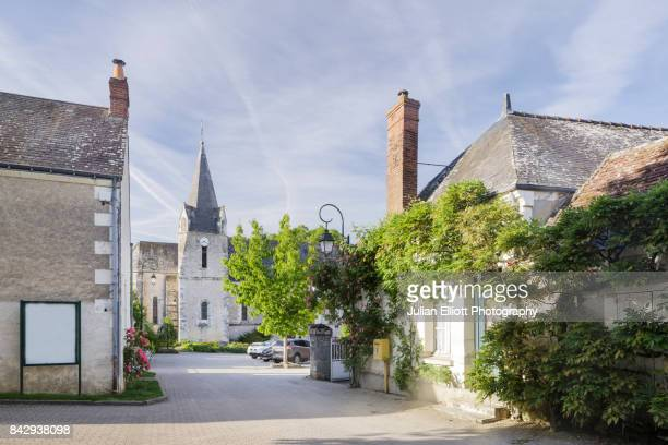 The village of Chedigny in the Loire Valley of France.