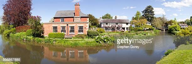 The village of Eardisland, Herefordshire