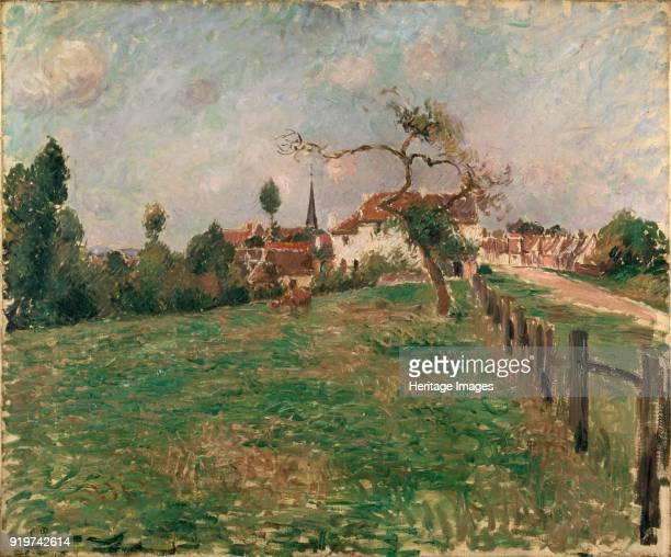 The Village of Eragny 1885 Artist Camille Pissarro