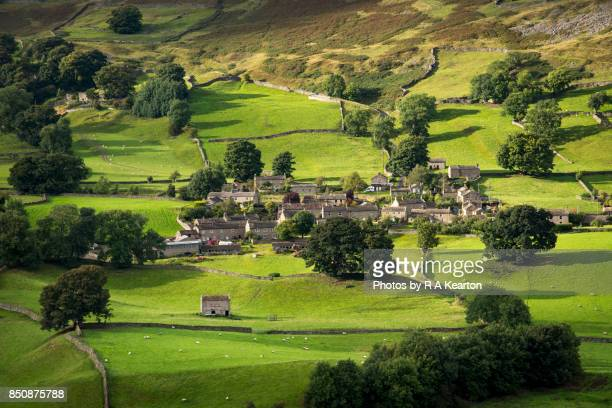 The village of Healaugh, Swaledale, Yorkshire Dales, England