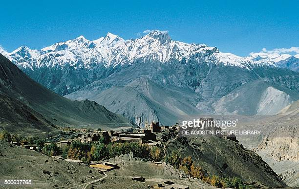 The village of Jharkot The Himalayas Nepal