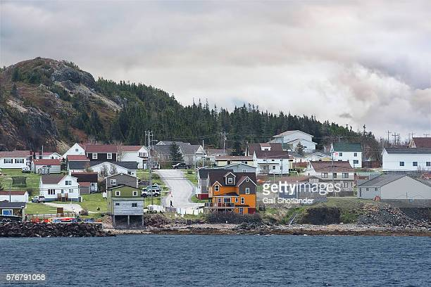 the village of paradise - newfoundland and labrador stock pictures, royalty-free photos & images