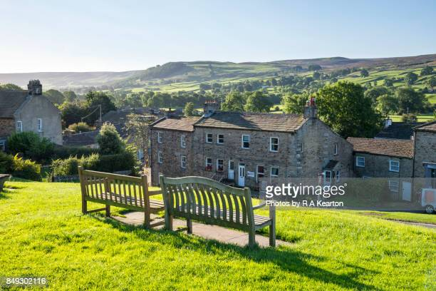 The village of Reeth in Swaledale, Yorkshire Dales, England