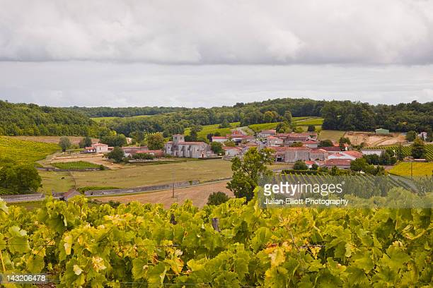 the village of saint preuil in cognac. - charente stock pictures, royalty-free photos & images