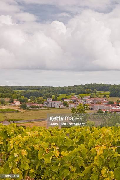 The village of Saint Preuil in Cognac.