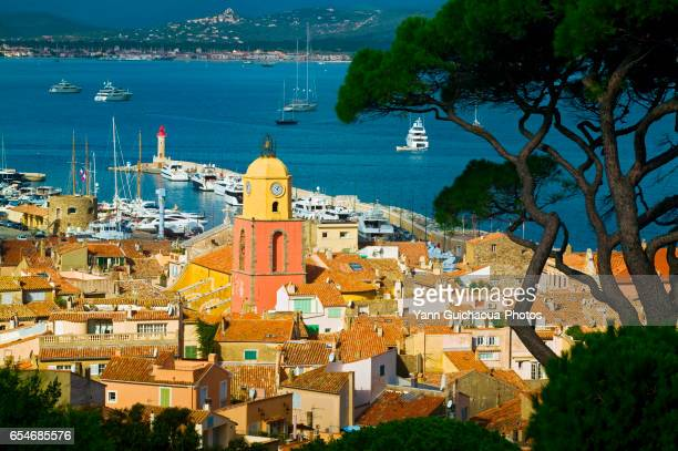 The village of Saint Tropez, Var, France