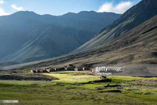 The village of Sarhad in the Wakhan Corridor of Afghanistan.