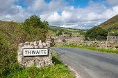 The village of Thwaite, Swaledale, Yorkshire Dales, England