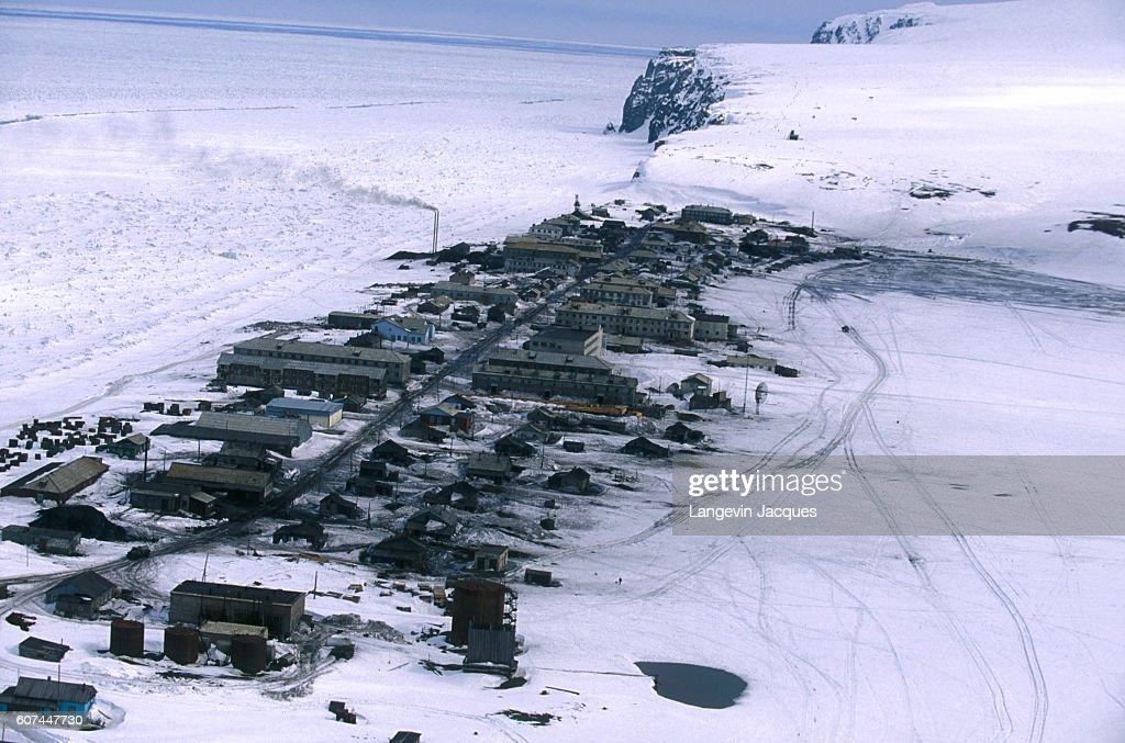 Village of Uelen, Russia : Nachrichtenfoto
