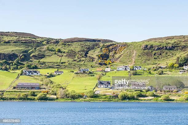 The village of Uig on the Isle of Skye.
