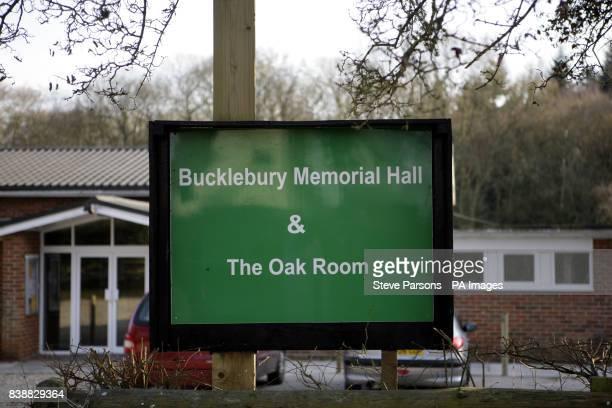 The village of Upper Bucklebury West Berkshire