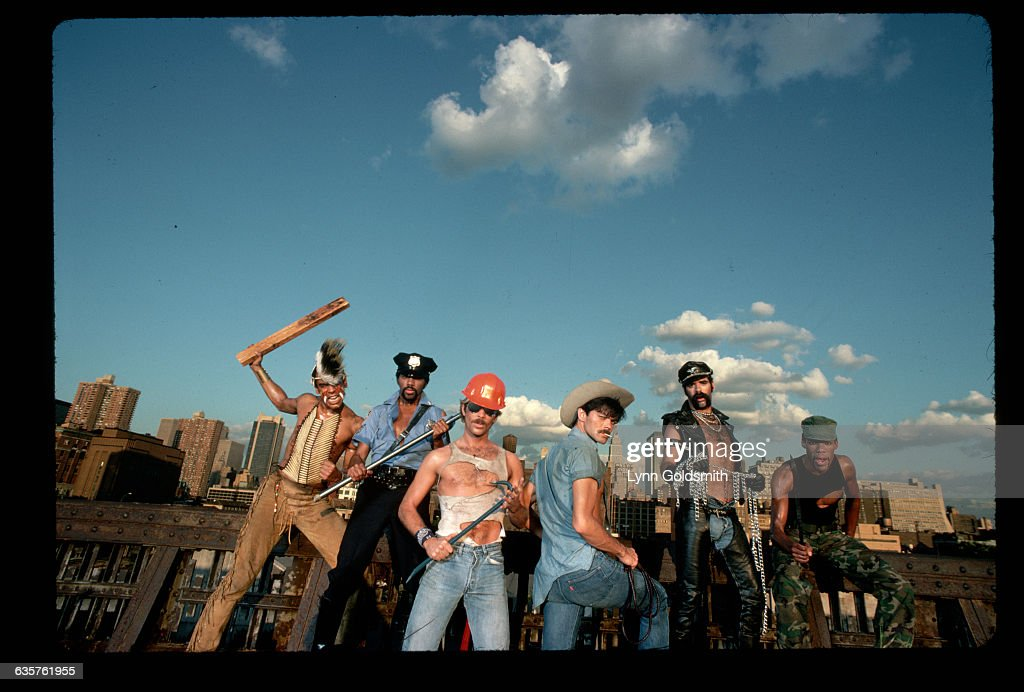 Outdoor Portrait of the Village People : News Photo