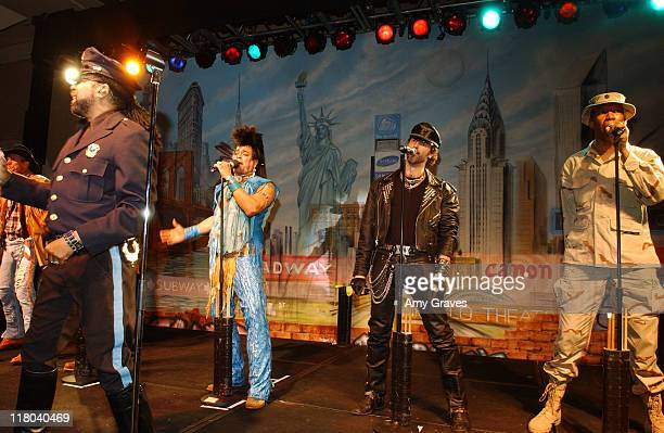 The Village People at the 2006 Rick Weiss Humanitarian Awards Presented by the Greenburg Family Foundation as a tribute to the late partner of Earl...