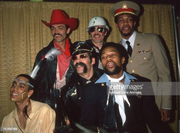 The Village People attend the People's Choice Awards circa 1978 in Los Angeles California