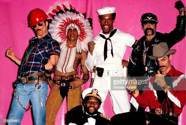 The Village People group portrait New York 1978