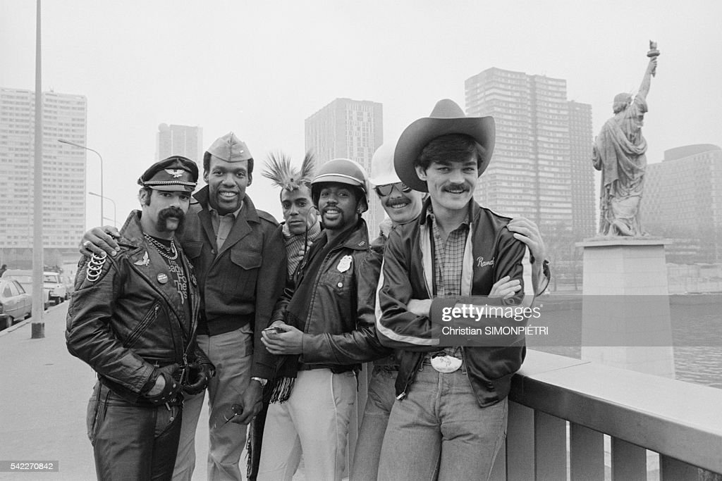 The Village People in Paris : News Photo