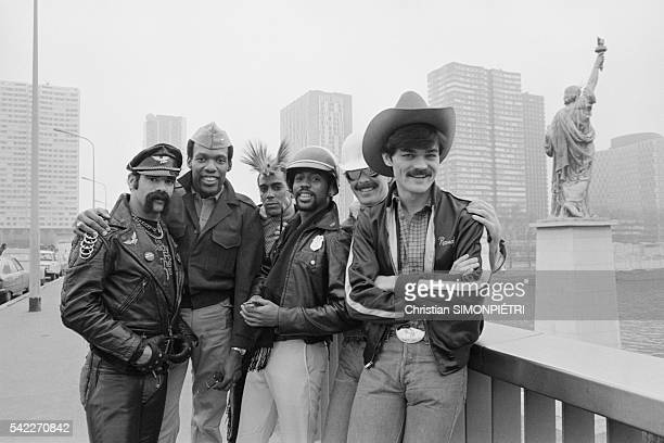 The Village People in Paris