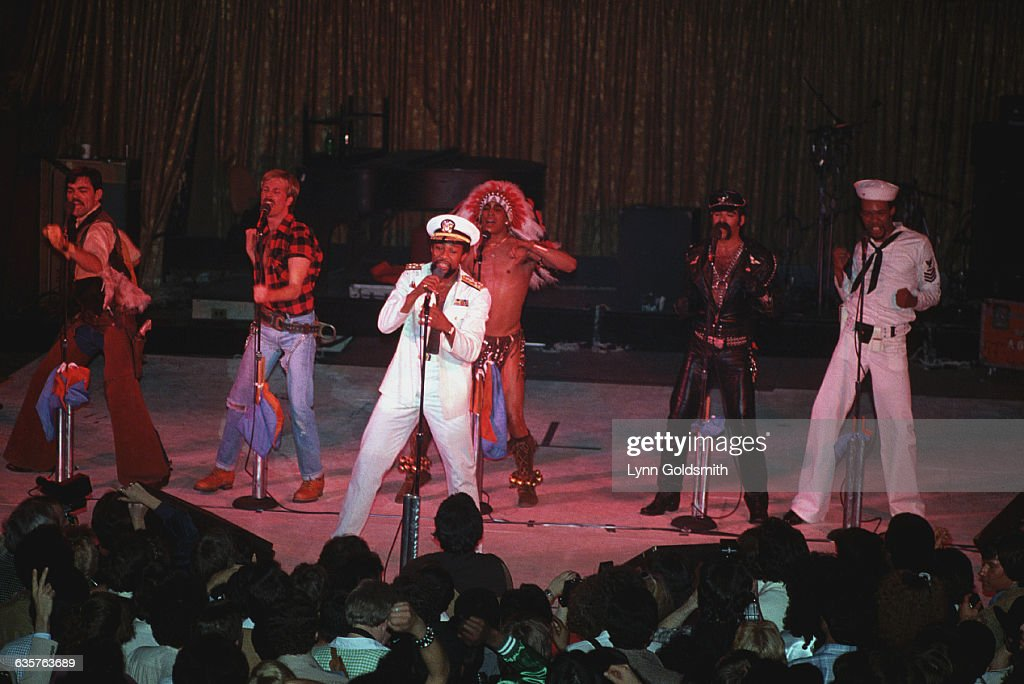 Village People Performing in Concert : News Photo