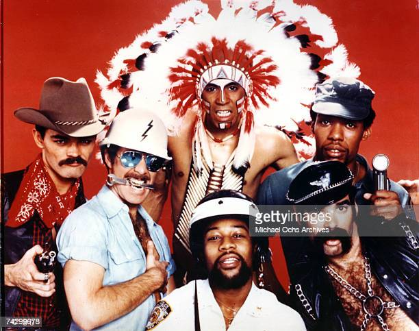 The Village People pose for a Casablanca Records publicity shot circa 1978