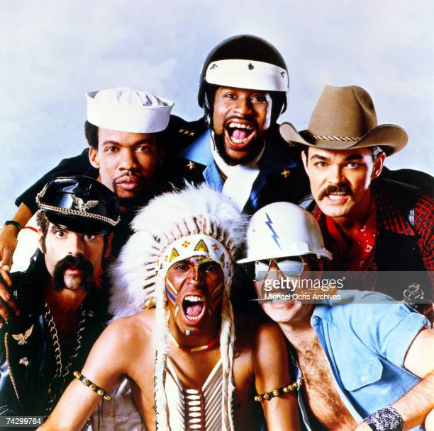 The Village People pose for a Casablanca Records publicity shot circa 1980