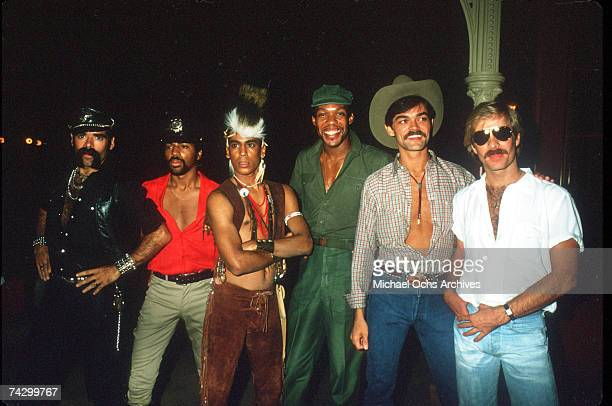 The Village People pose for a photo circa 1981 in Los Angeles California