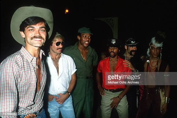 The Village People pose for a photo in September 1979 in Los Angeles California