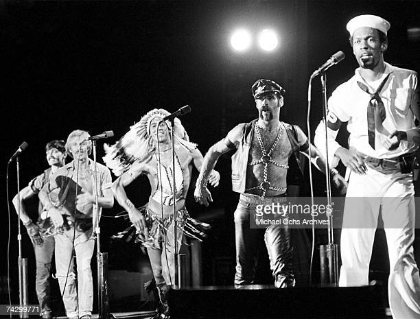 The Village People preform circa 1978 in los Angeles california