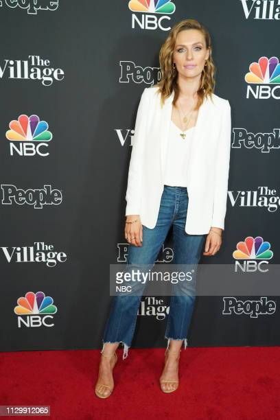 The Village Screening - People Magazine - at The Grove, Los Angeles -- Pictured: Michaela McManus --