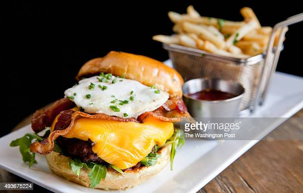 The 'Villain' side of the menu features sinful delights like the Black Angus grilled cheeseburger on a toasted brioche bun which comes with lettuce...