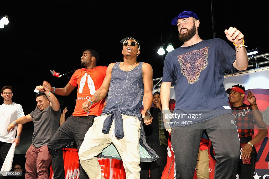 The vine meet greet onstage at the flava zone during the 2015 bet 2015 bet experience flava zone day 2 news photo m4hsunfo