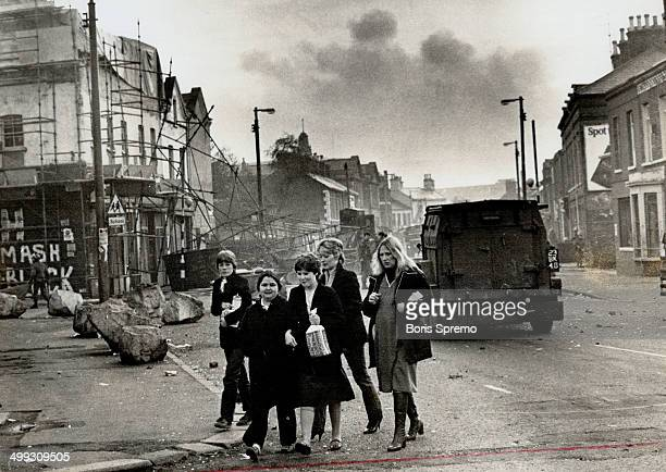 The violence in Northern Ireland has played havoc with communities such as the Falls Road area of Belfast