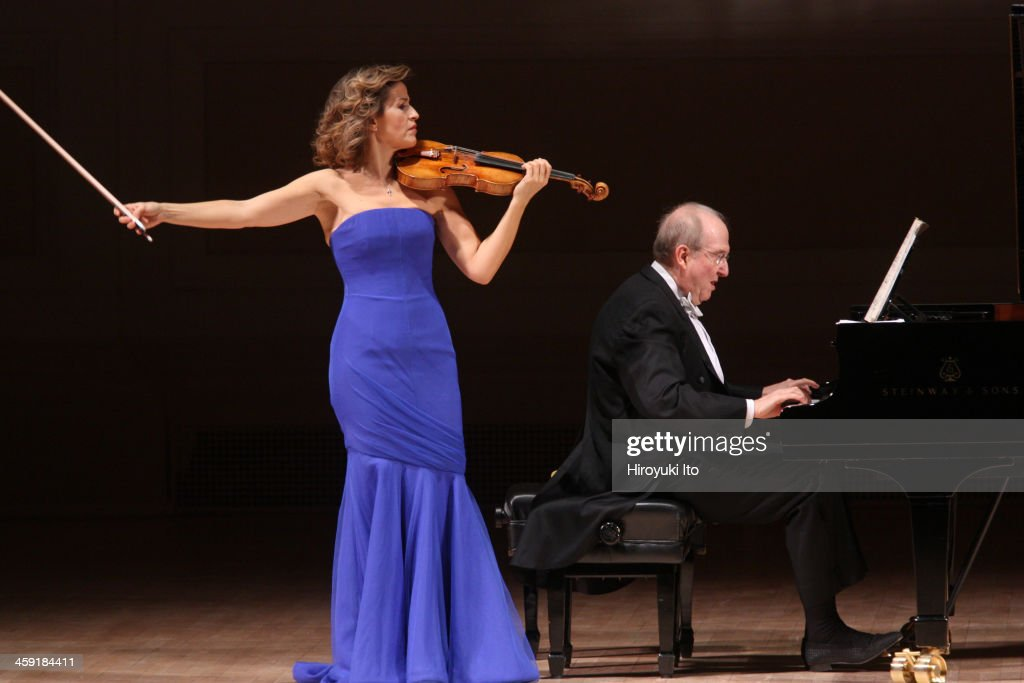 Anne-Sophie Mutter : News Photo