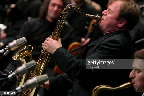 The violist Yuri Bashmet and the saxophonist Igor Butman performing the music of Bach, Dowland, Mozart, Shostakovich, Schnittke , Stranvinsky and...