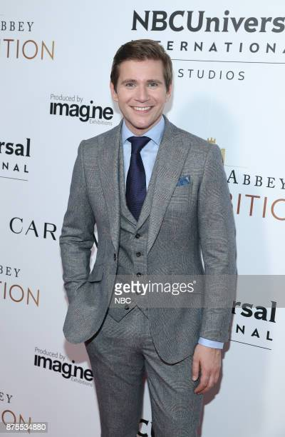 EXHIBITION The VIP Opening of Downton Abbey The Exhibition Pictured Allen Leech