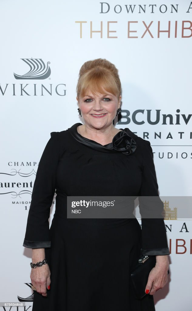 THE EXHIBITION -- The VIP Opening of Downton Abbey: The Exhibition -- Pictured: Lesley Nicol --