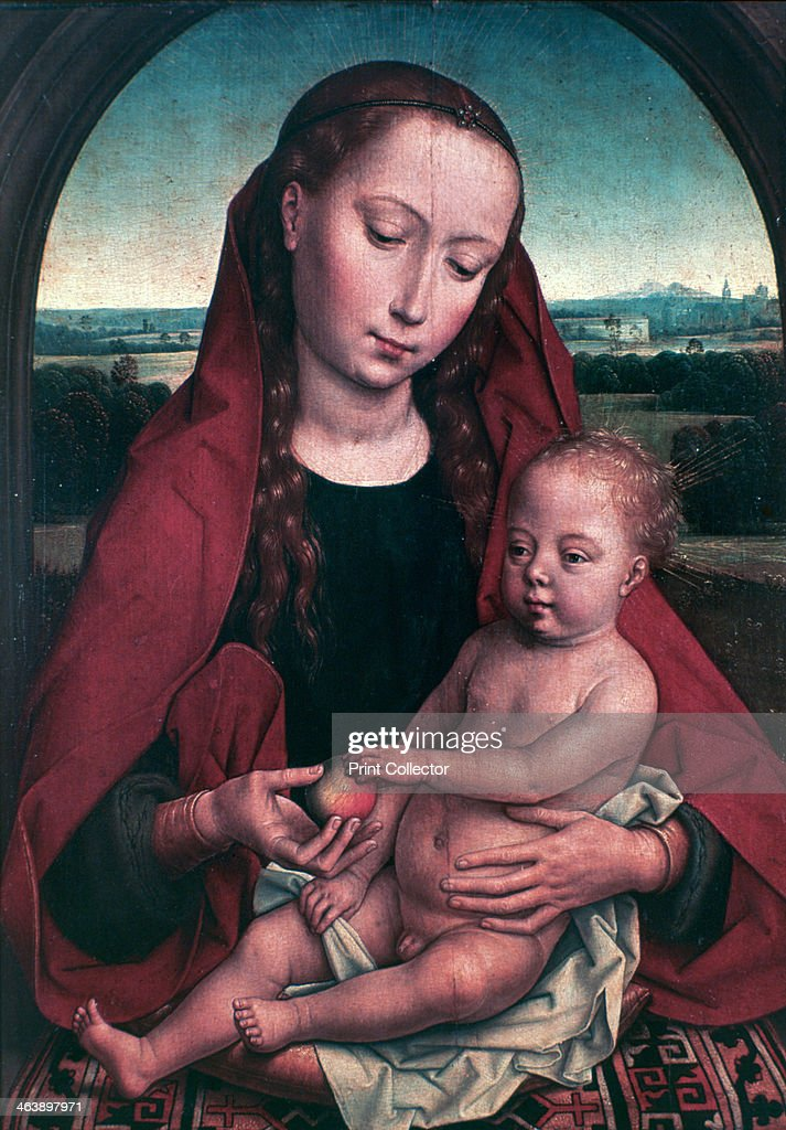 The Virgin and Child', c1453-1494. Artist: Hans Memling : News Photo