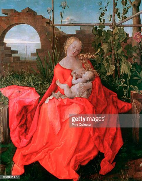 'The Virgin and Child The Madonna with the Iris' 15001510 From the National Gallery London