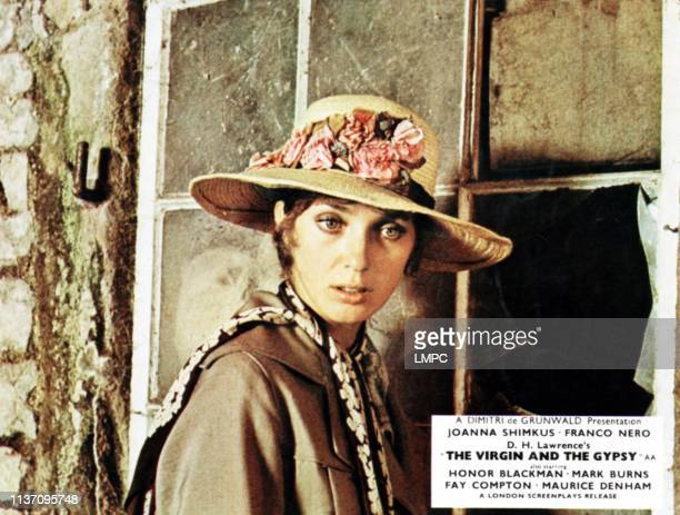 The Virgin And The Gypsy lobbycard Joanna Shimkus 1970