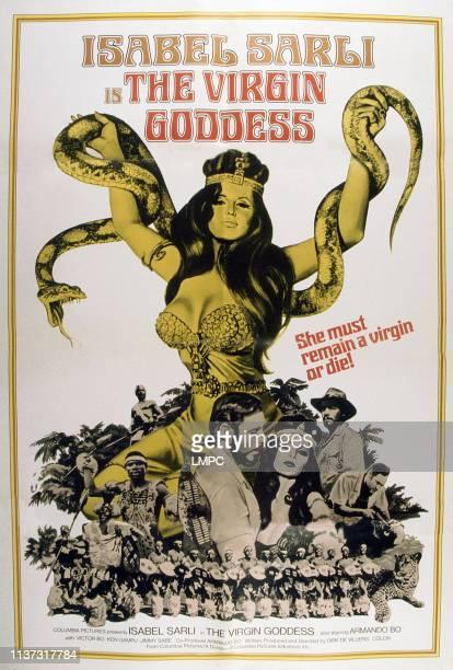 The Virgin Goddess poster Isabel Sarli 1974