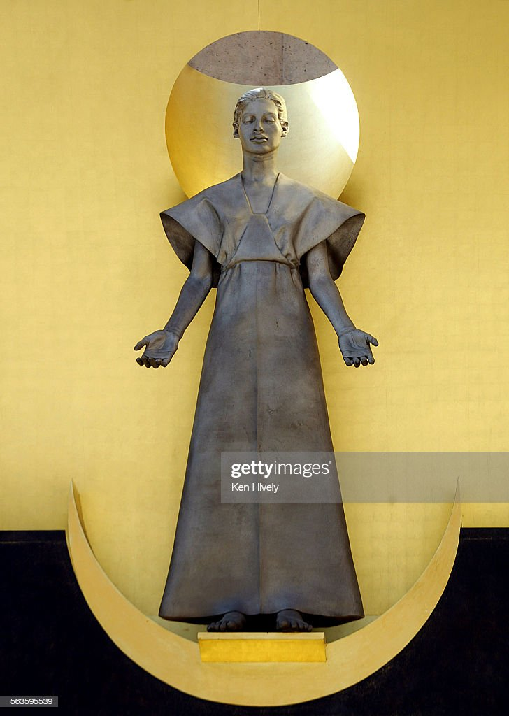 The Virgin Mary that adorn the Great Bronze Doors which Robert Graham also sculpted. & The Virgin Mary that adorn the Great Bronze Doors which Robert ...