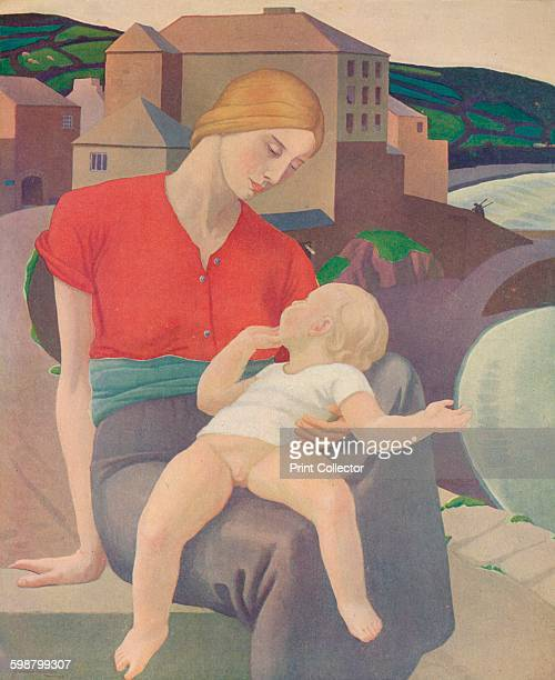 The Virgin of the Harbour Painting held at The Stanley Audrey Burton Gallery University of Leeds Leeds From Modern Art by Charles Marriott Tis Tis...