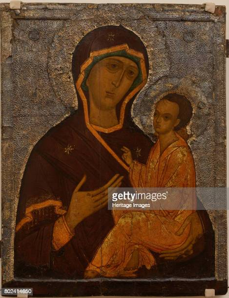 The Virgin of Tikhvin 16th century Found in the collection of State A Radishchev Art Museum Saratov