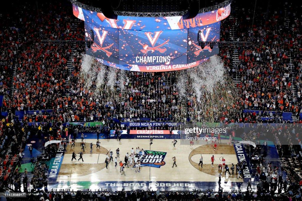 NCAA Men's Final Four - National Championship - Texas Tech v Virginia : Fotografía de noticias