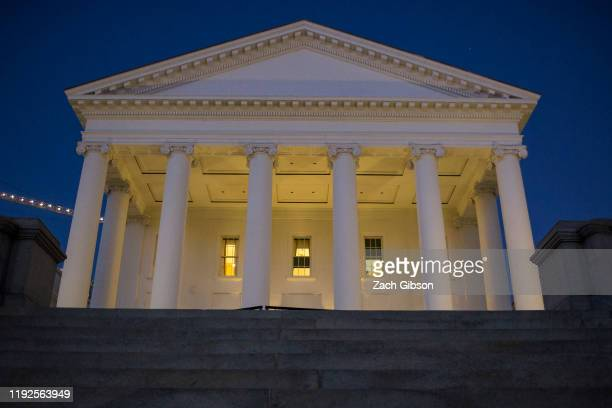 The Virginia State Capitol is pictured on January 8 2020 in Richmond Virginia The 2020 state legislative session began today under Democratic control