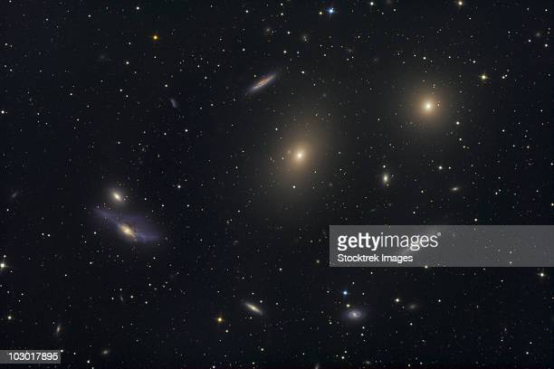 The Virgo Galaxy Cluster known as Markarian's Chain.