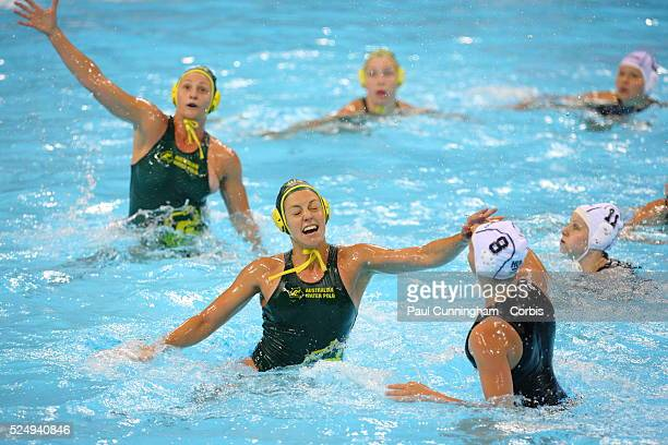 The Visa Water Polo International Women's competition Australia vs Hungary at the Water Polo Arena London Olympic Park 5 May 2012 Image by �� Paul...