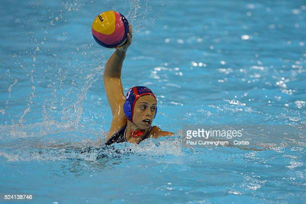 The Visa Water Polo International Women's competition Australia vs USA Lauren Silver at the Water Polo Arena London Olympic Park 4 May 2012 Image by...
