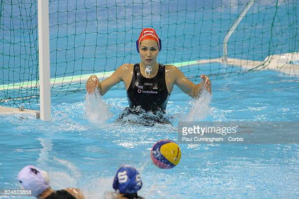 The Visa Water Polo International Women's competition Great Britain vs Hungary at the Water Polo Arena London Olympic Park 4 May 2012 Image by ��...