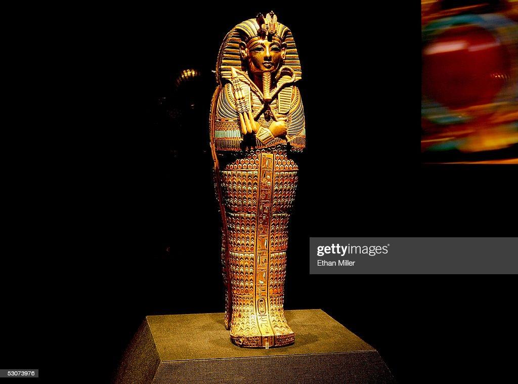 'Tutankhamun And The Golden Age Of The Pharaohs' Exhibit Opening : News Photo