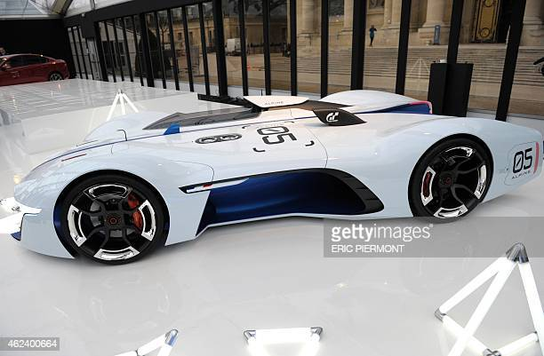 The Vision Gran Turismo by French historic manufacturer of racing and sports cars Alpine developed in relation with the Gran Turismo video game is...